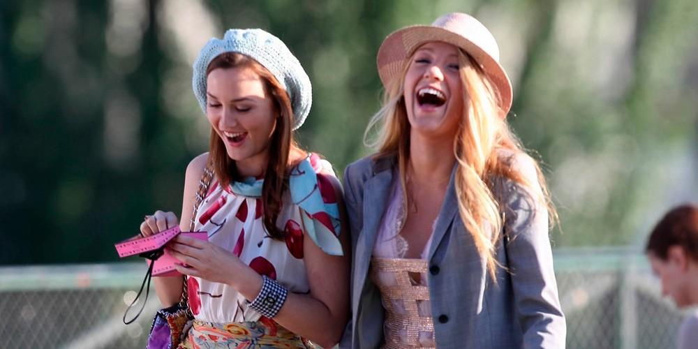 Las dos protagonistas y almas de 'Gossip Girl': Blair y Serena