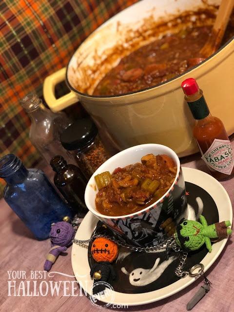 cajun kick chili recipe, new orleans inspired chili