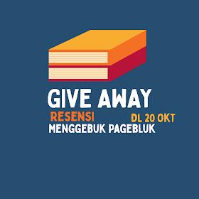 Give Away 'Menggebuk Pagebluk' DL 20 Oktober 2020