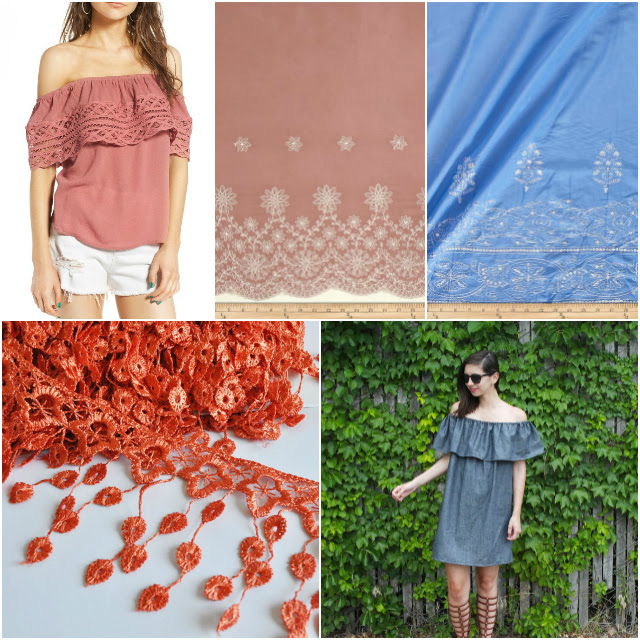 Sewing Inspiration from Summer Trends