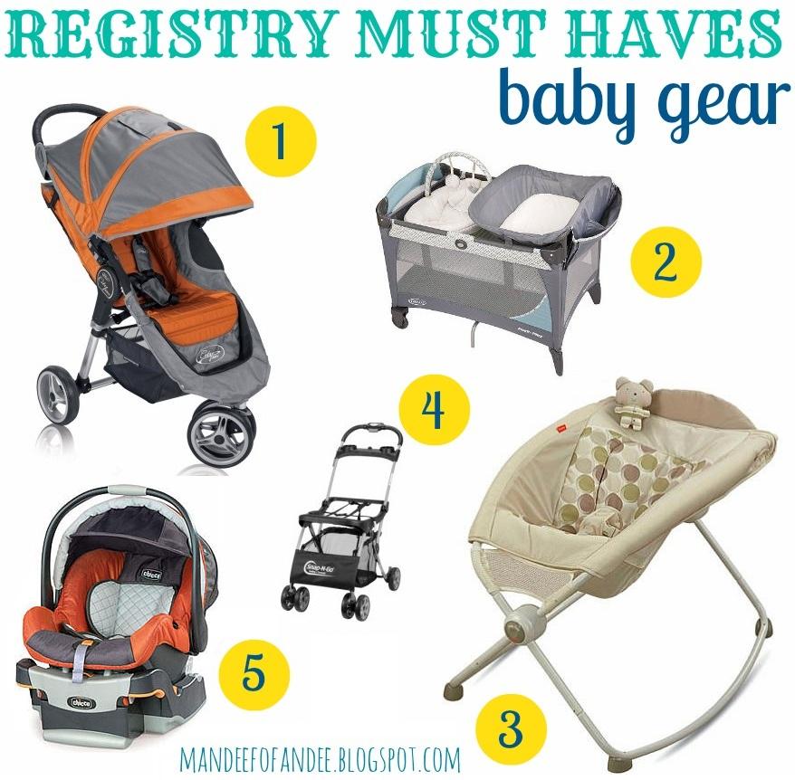 Mandeefofandee Baby Registry Must Haves Baby Gear