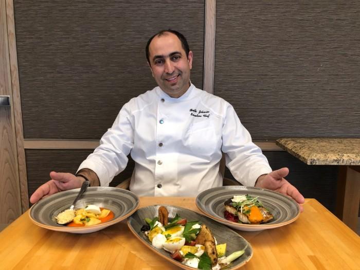A new spring menu at Hilton Tel Aviv Lobby by Chef Rafiq Jabarin