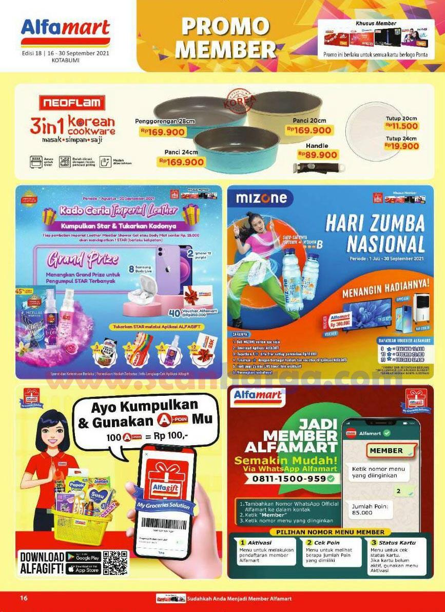 Katalog Alfamart Promo Terbaru 16 - 30 September 2021 16