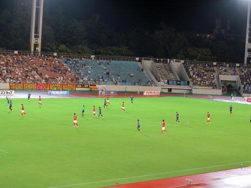 Nagoya Grampus v Gamba Osaka.