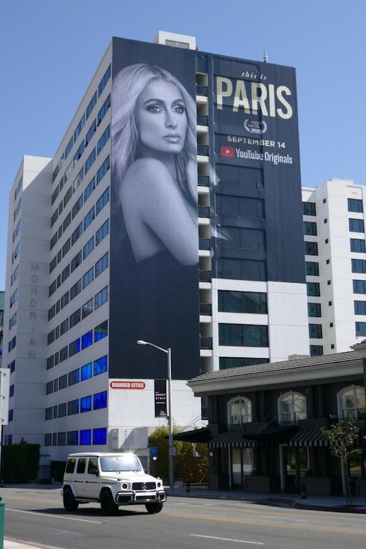 This Is Paris YouTube Originals billboard