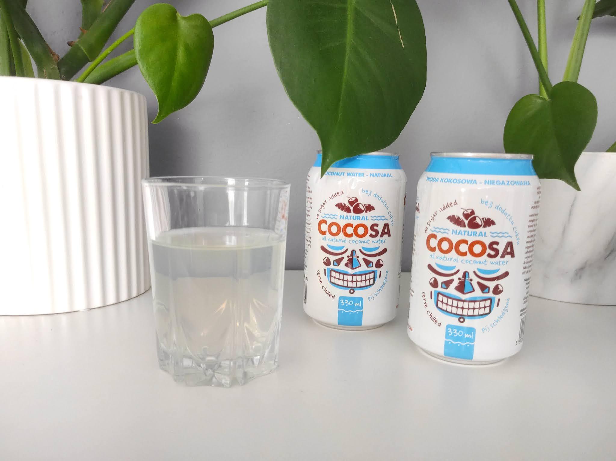 Smak wody kokosowej
