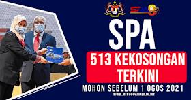 513 Jawatan Kosong Terkini Penolong SPA Julai 2021 ~ Minima SPM Layak Mohon