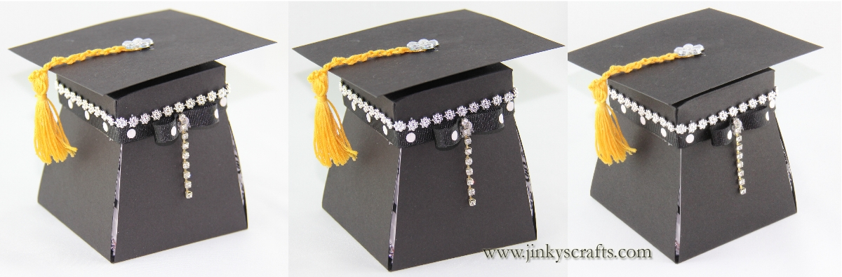 Jinkys Crafts Designs 2013 Graduation Invitation Box
