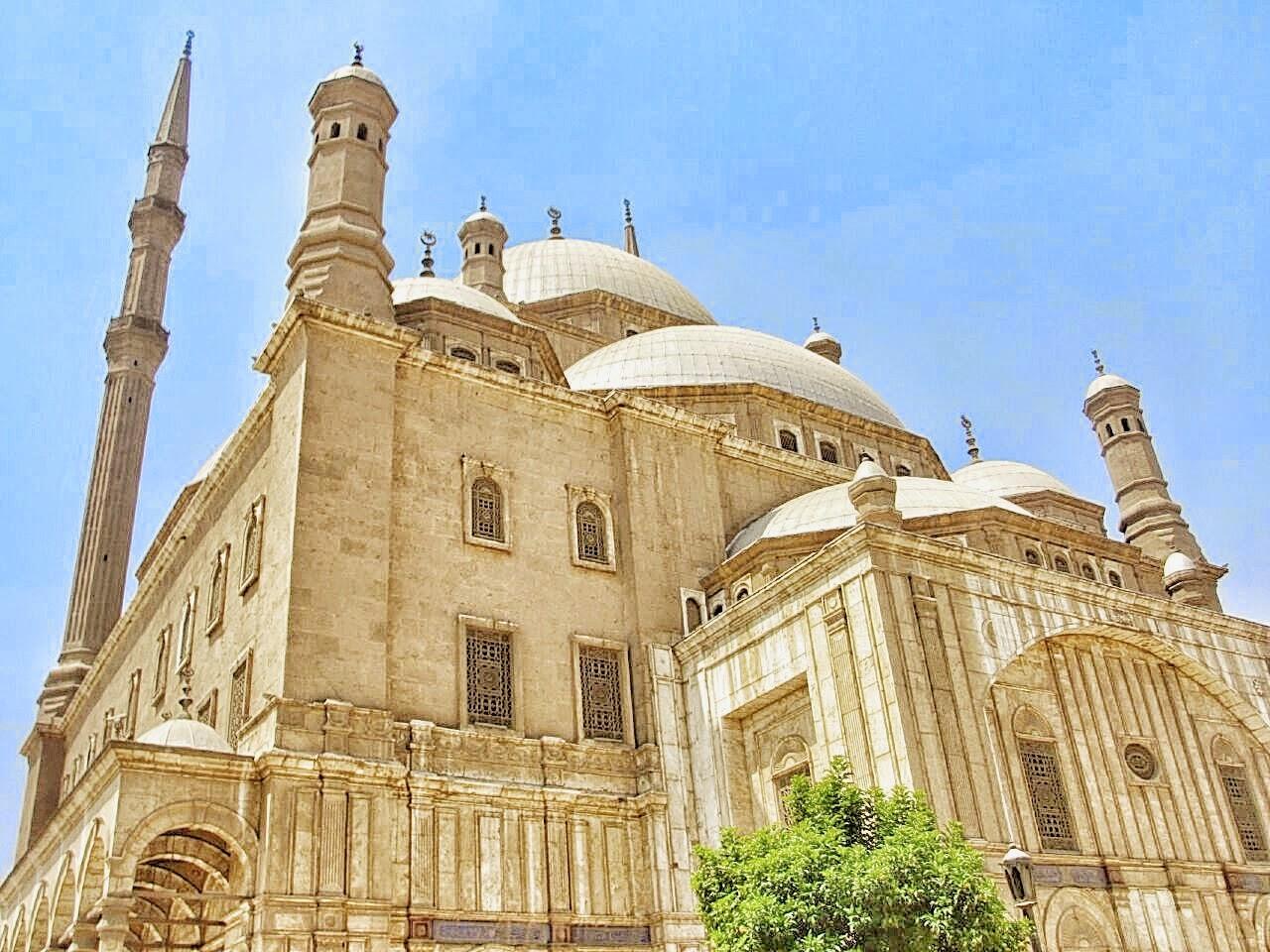 歴史由緒あるエジプトのムハンマド・アリ・モスク
