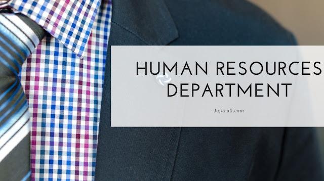 Human Resources Department adalah