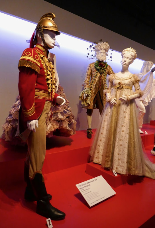 Nutcracker and Four Realms film costumes