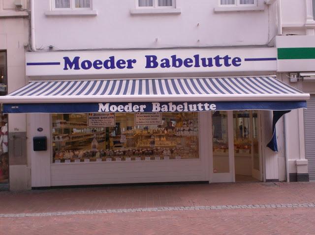 A 'Moeder Babelutte' in Blankenberge