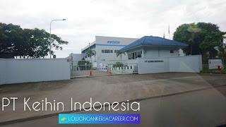 Lowongan kerja PT Keihin Indonesia terbaru 2020