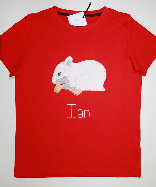 camiseta hamster personalizada