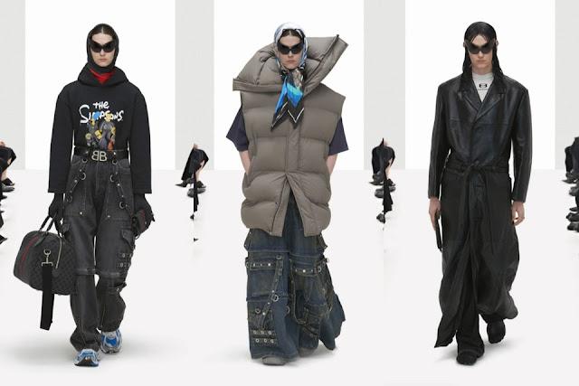 Balenciaga Ledek Gucci melalui Clone Spring 2022