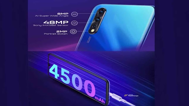 Vivo Z1x will have 48 megapixel primary camera and 4,500 mAh battery