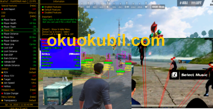 Rules of Survival Hillo Shader-Chams-ESP-Aimbot Hilesi İndir 14.Eylül