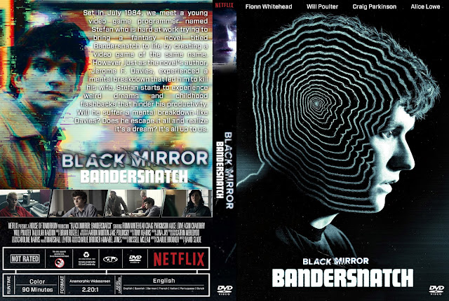 Black Mirror: Bandersnatch DVD Cover