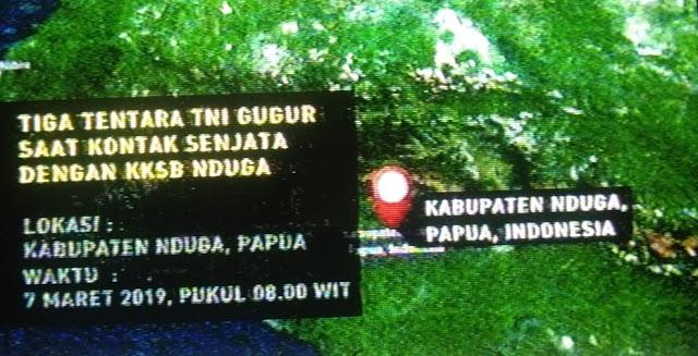 9 Anggota KKB Papua Tewas Usai Baku Tembak di Nduga