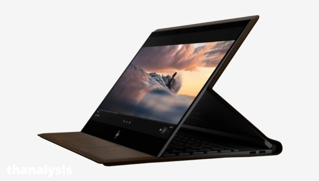 7 best touchscreen laptop: Hp Spectre Folio leather 2-in-1