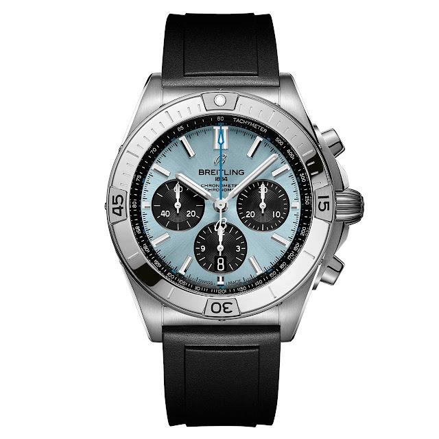 Breitling Chronomat B01 42 Ice Blue