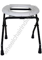 Folding Commode Stand