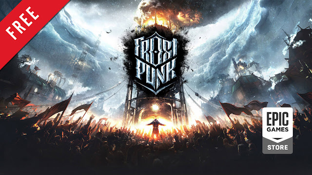 frostpunk free pc game epic games store society survival game 11 bit studios