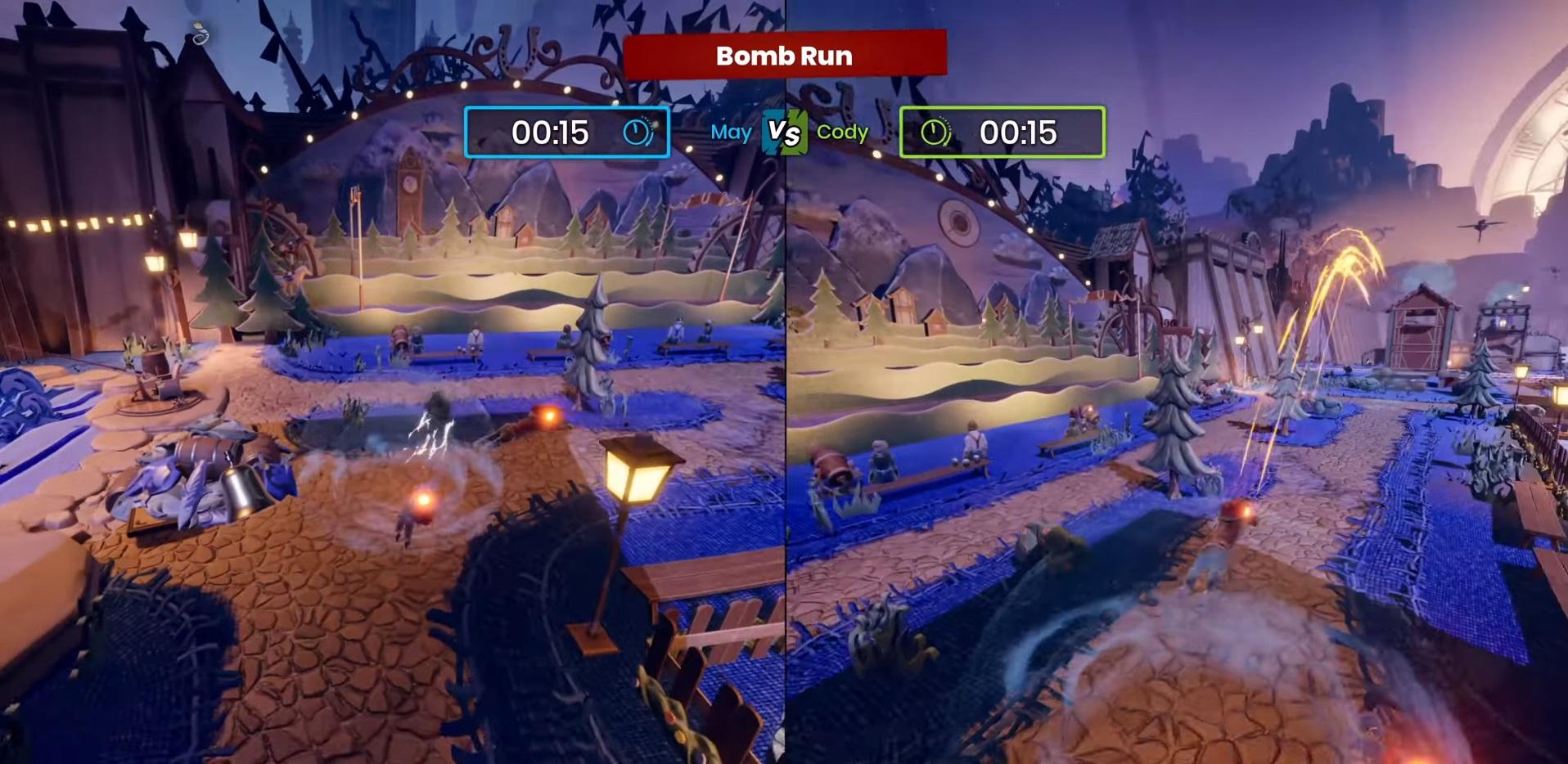 """Mini-game №13 """"Bomb Run"""""""