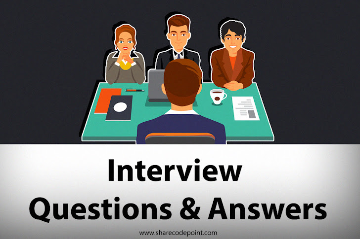 Top 20  Android Interview Questions and Answers Cheat Sheet - sharecodepoint