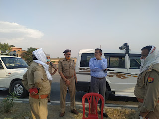 लॉकडाउन के दृष्टिगत जनपद जालौन-झॉसी (पिरौना) बार्डर पर सघन चेकिंग  -ADM जालौन  In view of lockdown, intensive checking on district Jalaun-Jhaosi (Pirauna) border -ADM Jalaun https://www.upviral24.in/     संवाददाता, Journalist Anil Prabhakar.      लॉकडाउन के दृष्टिगत जनपद जालौन-झॉसी (पिरौना) बार्डर पर सघन चेकिंग  -ADM जालौन  In view of lockdown, intensive checking on district Jalaun-Jhansi (Pirauna) border -ADM Jalaun            www.upviral24.in