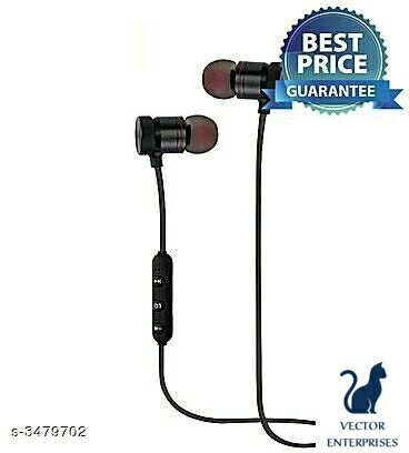 Basic Lynrex Bluetooth Earphones With Mic