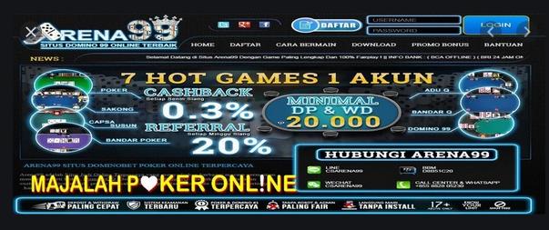 Situs Poker Uang Asli Yang Lebih Jujur Dalam Permainan