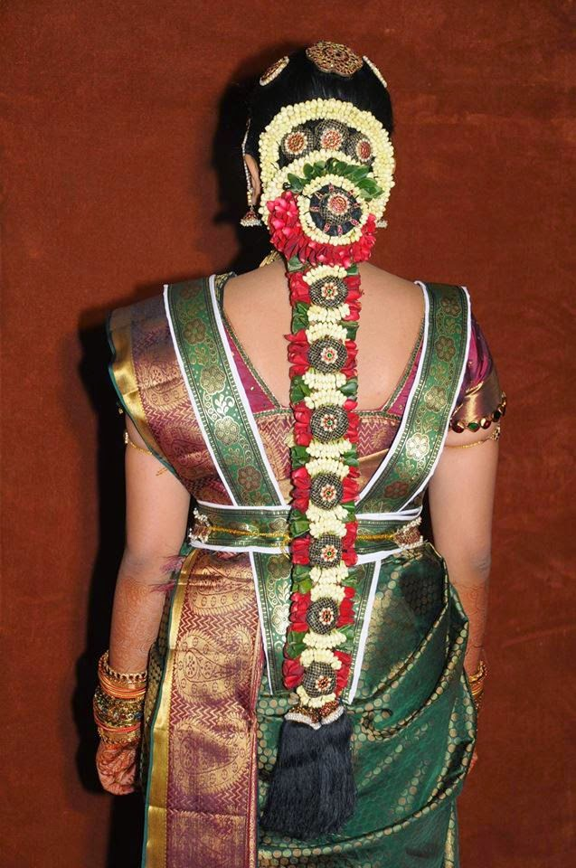 south indian hair style pelli poola south indian bridal hair style 8021
