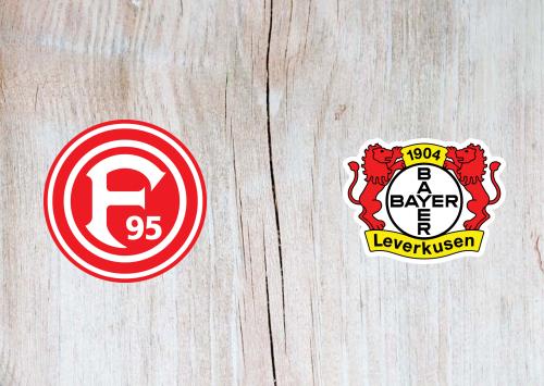 Fortuna Dusseldorf vs Bayer Leverkusen - Highlights 24 August 2019