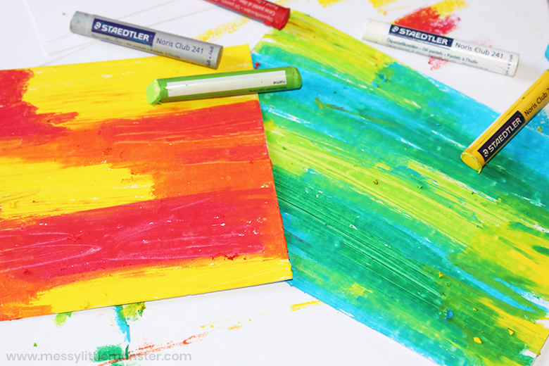 How to make DIY scratch art papers