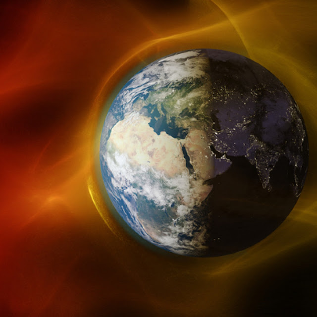 Earth's last magnetic field reversal took far longer than once though