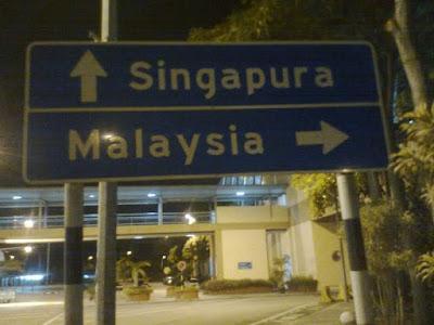 Malaysia, Singapura, Thailand