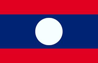 Gambar Bendera Negara Laos