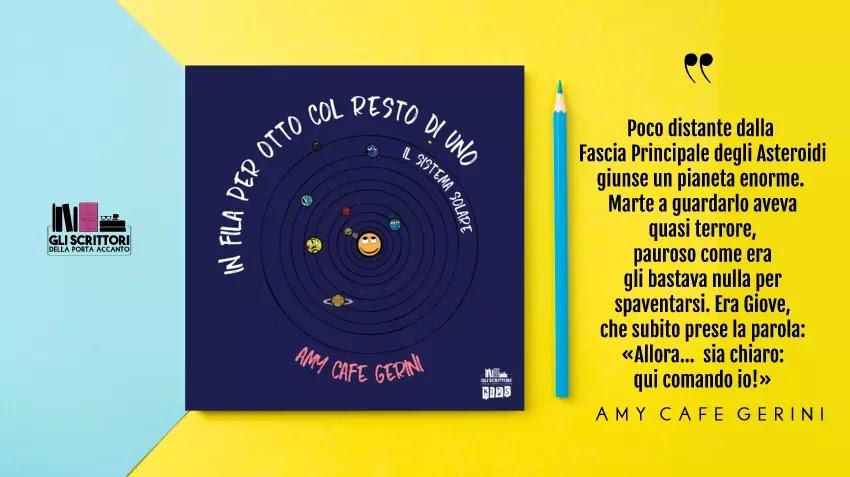 In fila per otto col resto di uno, un libro per bambini di Amy Cafe Gerini