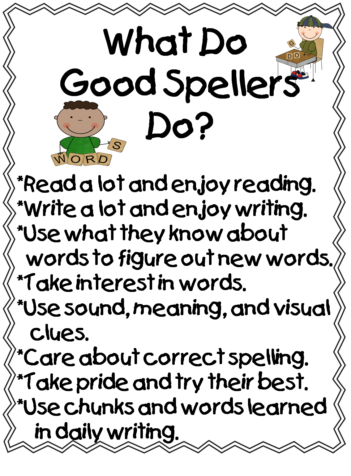 and words to know a spell check recording sheet a poem about spelling ...