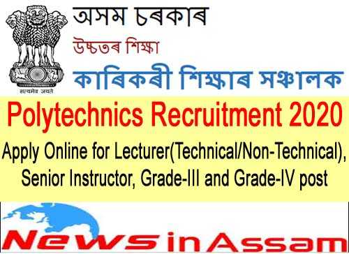 Polytechnics Recruitment 2020