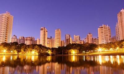 linda vista do estado de Goiás