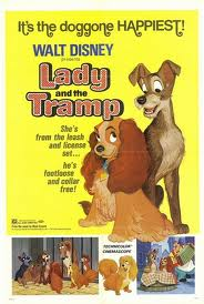 Film Poster Lady and the Tramp 1955 animatedfilmreviews.filminspector.com