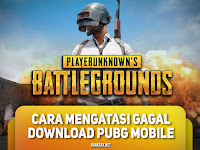 Cara Ampuh Mengatasi Gagal Download PUBG Mobile
