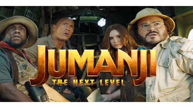 Jumanji: The Next Level (2019) Movie [Dual Audio] [ Hindi + English ] [ 720p + 1080p ] HDRip Download