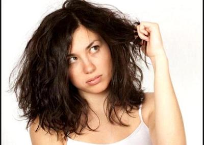 Potongan Rambut Untuk Wajah Bulat dan Rambut Mengembang