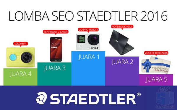 Lomba Seo Staedler 2016