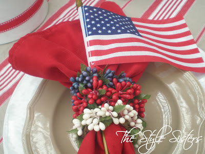 Fourth of July Tablescapes, Banners and Treats