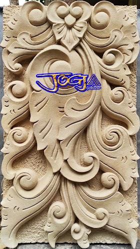 ukiran untuk tempel tiang pilar motif gaya bali
