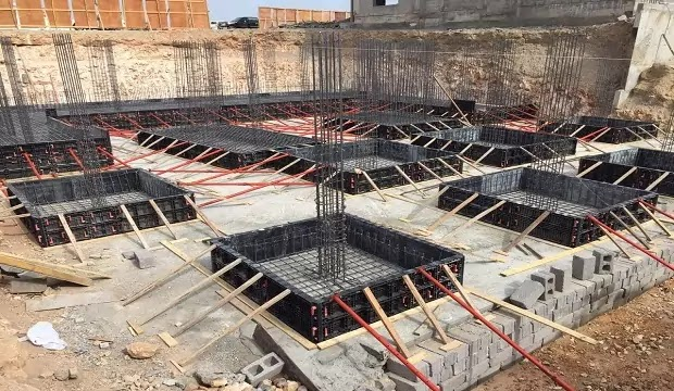 formwork for footing